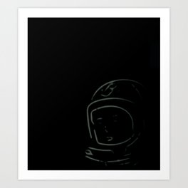 Houston?! Art Print