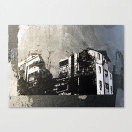 Sticker City Canvas Print