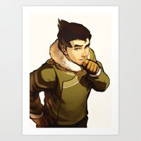 returns Art Prints featuring Bolin Returns by Caleb Thomas