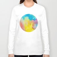 heaven Long Sleeve T-shirts featuring Heaven by elena + stephann