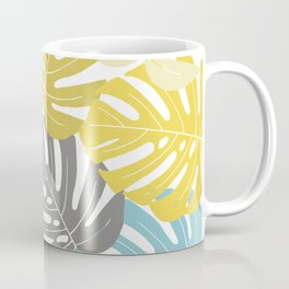 Colourful tropical leaves Coffee Mug