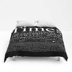Times (White) Comforters
