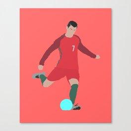 Cristiano Ronaldo Portugal Print Canvas Print
