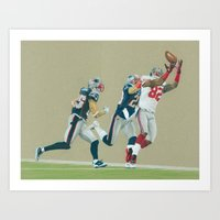 Toe Tappin' - Colored Pencil Sports Art Print