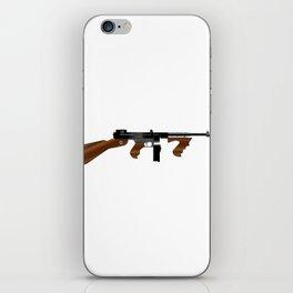 Tommy Gun iPhone Skin