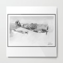 spitfires Metal Print