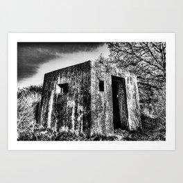The Ghost Bunker Art Print