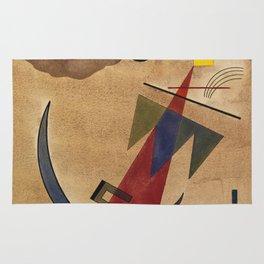 Wassily Kandinsky -  Rot in Spitzform Rug