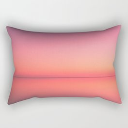 Radiant Gradient in Pink Rectangular Pillow