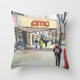 84th street Throw Pillow