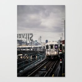 On the 7 Canvas Print