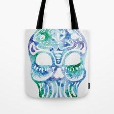 Watercolor Dia de la Mortes Tote Bag