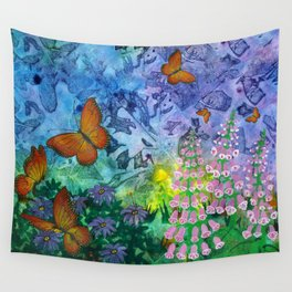 Monarch Haven Wall Tapestry