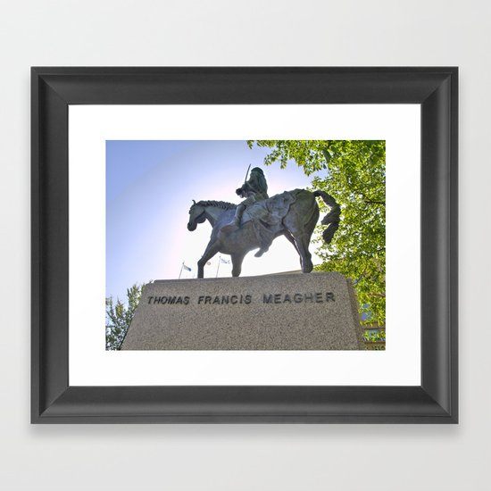 Thomas Francis Meagher August 3, 1823 – July 1, 1867 Framed Art Print