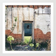 Time Moves in One Direction, Memory in Another Art Print