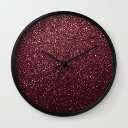 Pink Cosmos Wall Clock