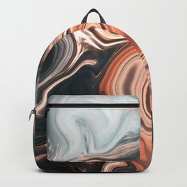 Digital Fluid Art Backpack
