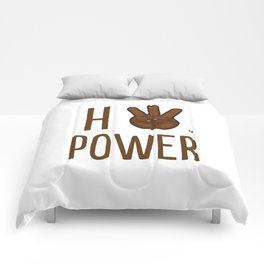 HiiiPower (w/text) : Chocolate Comforters