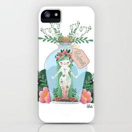 Miss Printemps iPhone Case