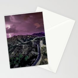 Great wall lighting Stationery Cards