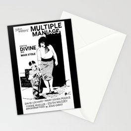 Multiple Maniacs DIVINE John Waters Stationery Cards