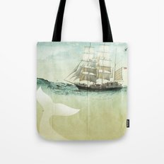 white tail Tote Bag