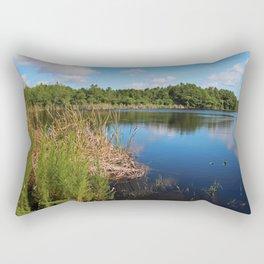 Gator Lake I Rectangular Pillow