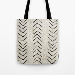 Minimal Arrow Pattern  Tote Bag