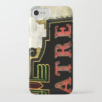 theatre iPhone & iPod Cases featuring Old Theatre by Massimiliano Bertozzi