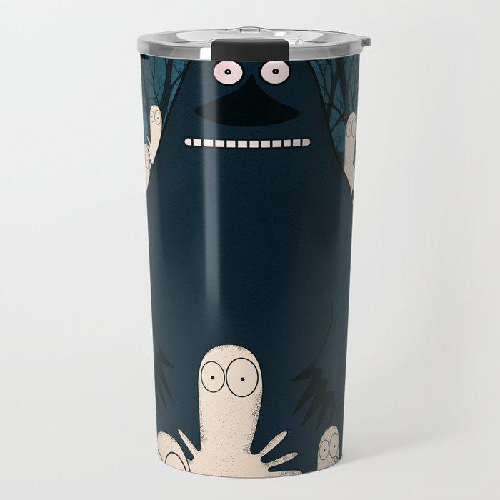 Groke, the moomins Travel Mug by ultrakuik