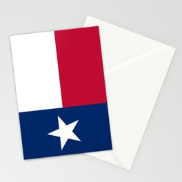 Texas state flag, High Quality Authentic Version Stationery Cards