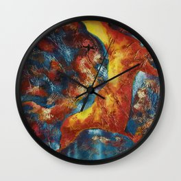 Cave Dweller One Wall Clock