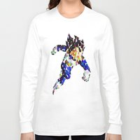 vegeta Long Sleeve T-shirts featuring vegeta bubbles by codradical