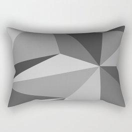 Different shades of Grey Rectangular Pillow