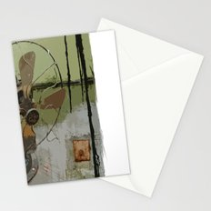 old antique fan Stationery Cards