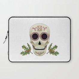 Knotwork Skull Laptop Sleeve