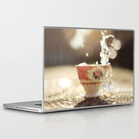 china Laptop & iPad Skins featuring China by simplyemw