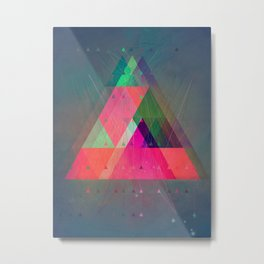 8try Metal Print