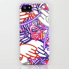 Funky Doodles iPhone Case