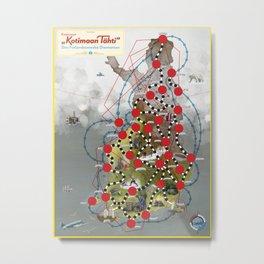Kadonnut Kotimaan Tähti – Den Finlandssvenska Diamanten Metal Print