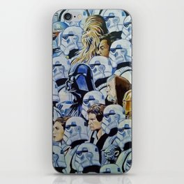 Star war Guerra Galaxias iPhone Skin