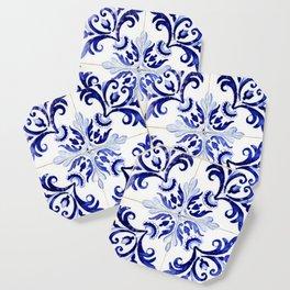 Azulejo V - Portuguese hand painted tiles Coaster