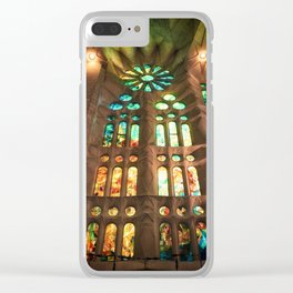 la Sagrada Família Clear iPhone Case
