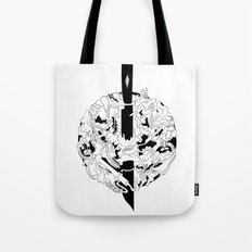 Knife Tote Bag