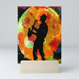 New Orleans JAZZ Mini Art Print