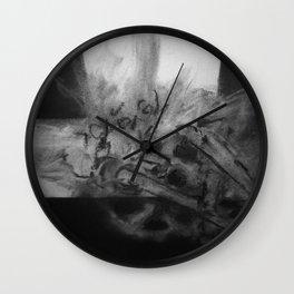 Mechanics Sketch #1 Wall Clock