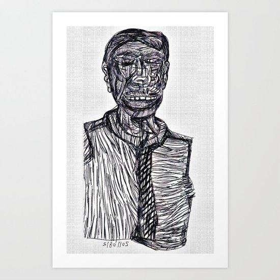 20110812 _GIMP Art Print