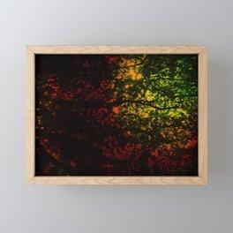 Rainbow Canopy Framed Mini Art Print