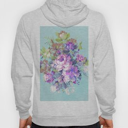 Deconstructed Floral Hoody