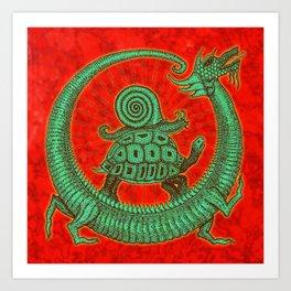 aghira jade Art Print